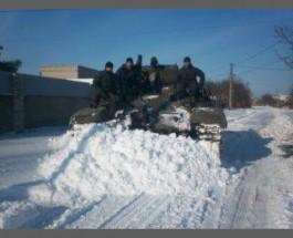 Российский контрактник сдался в плен украинским солдатам вместе с танком