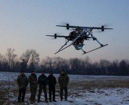 Украинские военные дроны, родившиеся в горниле конфликта