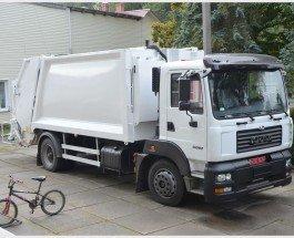 Очередная новинка от «КрАЗа»  — мусоросборочный автомобиль КрАЗ-5401К2