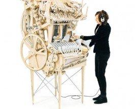 Wintergatan – музыкальная машина Marble Machine