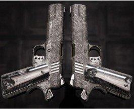 Из метеорита создали самые дорогие в истории пистолеты «Кольт»