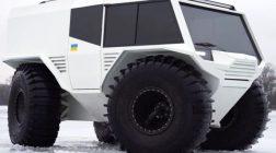 Огляд нового українського всюдихода ATLAS