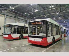 На маршрут вийде перший український тролейбус з системою знезараження повітря