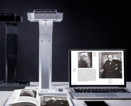 Сканер для книг «Czur»