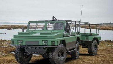 В Україні представили концепт легкого плаваючого тактичного автомобіля для ССО
