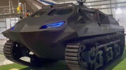 Украинцы представят гибридный бронеавтомобиль «Шторм»