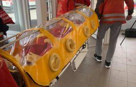 В Україні створили капсулу для переміщення хворих на COVID-19