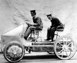 История создания автомобиля «Вечно живой» фирмы Лохнер-Порше