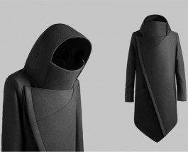 Matveeva black coat — новое украинское пальто