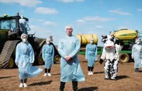 Украинские агрономы повеселили пародией на песню «Шум» группы «Go_A»