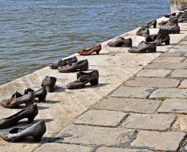 """""""Туфли на набережной Дуная"""" – так выглядит настоящая память"""