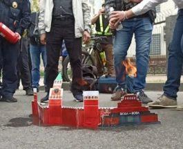 """Украинцы """"сожгли Кремль"""""""