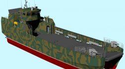 У Миколаєві розробили новий десантний катер для ВМС України