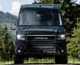 В Україні представили унікальний автобус Torsus Terrastorm