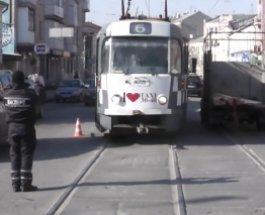 В Харькове трамвай переехал пешехода