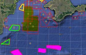 Россия контролирует уже большую часть Черного моря