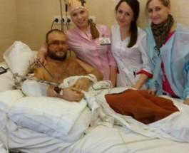 Опубликовано фото раненого Яроша